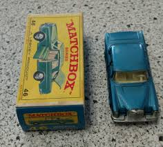 matchbox mercedes matchbox 46 mercedes 300 se coupe lesney made in england in box