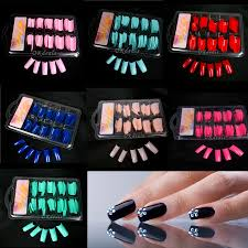 colored nail tips for sale reviews online shopping colored nail
