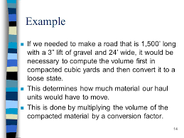 How To Calculate Cubic Yards Of Gravel Production Estimation Ppt Download