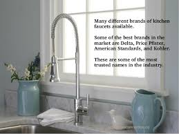 best brand of kitchen faucet the best kitchen sink faucet styles for your home