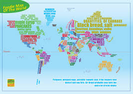 Map Of The World Poster by Taster Magazine