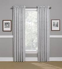 White Chevron Curtains Alluring White Chevron Curtains Decor With Curtain Grey Chevron