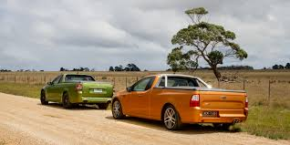 ford falcon xr6 turbo ute v holden ute ss v redline comparison