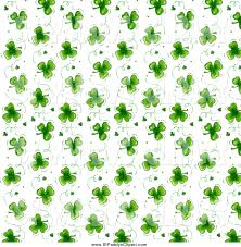 clip art of a st patricks day background pattern of green
