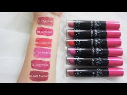 Lipstik Pixy Warna Merah harga lipstik pixy matte terbaru 06 lipstik kosmetik