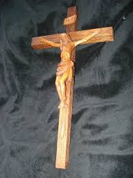 wooden crucifix vintage carved wooden crucifix found on ruby crosses