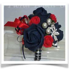 Red Prom Corsage Red Orange Corsage Flowers Prom And Our S Bar Blue Orchid