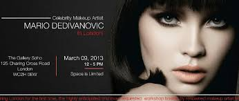 makeup artist workshops makeup artist mario dedivanovic