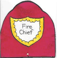 fireman helmet template