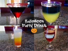 halloween drinks kid friendly halloween party drinks alcoholic u0026 non alcoholic youtube