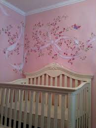fetching image of home interior wall decor with butterfly wall drop dead gorgeous pink girl baby nursery room decoration using pink rose flower butterfly wall murals