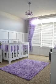 lavender and gray nursery project nursery