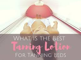 what is the best tanning lotion for tanning beds