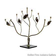 tree of menorah menorahs kolbo judaica gallery