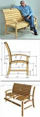 Outdoor Garden Bench Plans by Best 25 Woodworking Furniture Ideas On Pinterest Woodworking