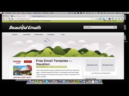 how to use email templates in thunderbird