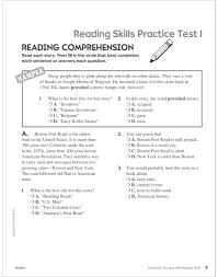 scholastic success with reading tests grade 4 by