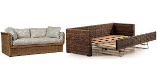rattan sleeper sofa wicker sleeper sofa cozysofa info
