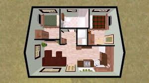 House Plans Under 1000 Sq Ft by Small Cottage House Plans Under 1000 Square Feet Youtube