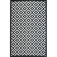 Outdoor Rug Uk Ave Kenji Black Outdoor Rug Reviews Wayfaircouk Black Rug