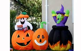 halloween blow up decorations youtube