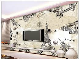 Paris Wallpaper For Bedroom by Compare Prices On Paris Mural Wallpaper Online Shopping Buy Low