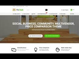 rehub price comparison affiliate marketing wordpress theme
