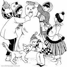 snowman family coloring pages u003e u003e disney coloring pages