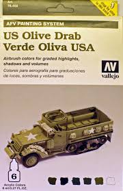 afv painting system us olive drab model air tools reviews