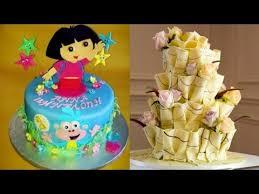 satisfying cakes compilation cool decorating cake tutorial amazing