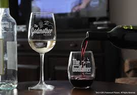 godmother wine glass personalized godfather stemless wine glass godmother wine