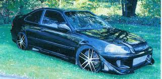 1998 black honda civic ex coupe for sale hondaswap