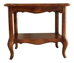 ethan allen french country end table chairish