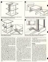 Revolving Bookshelf Rotating Bookshelf Plans U2022 Woodarchivist