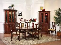 queen victoria corner hutch amish dining room furniture sugar