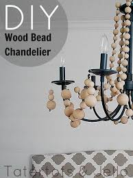 How To Make A Diy Chandelier Make A Diy Beaded Chandelier