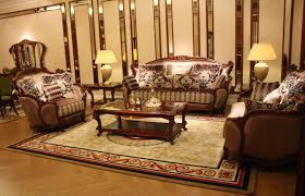 Brown Sofa Set Designs Furniture Quality Furniture Applied In Luxury Artistic Carved