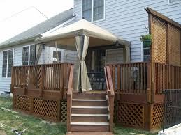 Backyard Ideas For Privacy Deck Railing Ideas For Privacy Home Design Privacy Deck Railing