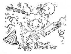 happy new year preschool coloring pages happy new year coloring pages 2017 for preschoolers happy new year