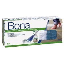 Laminate Flooring Cleaner Bona Stone Tile U0026 Laminate Floor Care System Lowe U0027s Canada