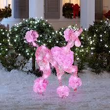 lighted dog christmas lawn ornament christmas puppy dogs lighted yard displays christmas wikii