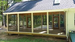 shed roof screened porch screened porch 2016 robert s shuping wood works