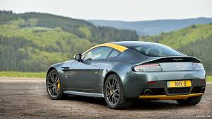 2015 aston martin v8 vantage n430 alloro green rear hd