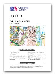 map legend symbols map symbols live for the outdoors