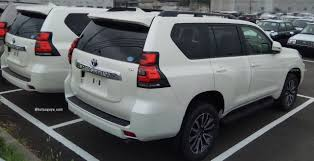 toyota prado 2018 toyota land cruiser prado reaches dealer yards