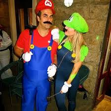 Mario Luigi Halloween Costumes 13 Halloween Costumes Couple Images Halloween