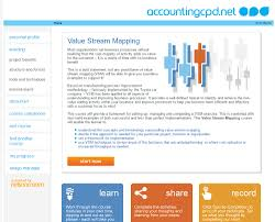 Value Stream Mapping Www Accountingcpd Net