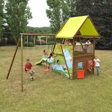 jeux en bois pour enfants aligar portique balancoire stations de jeux et alinéa