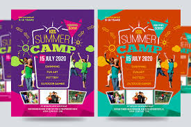 summer camp flyer templates u2013 43 free jpg psd esi indesign