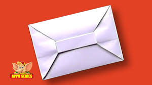 how to make envelopes origami how to make an envelope hd youtube